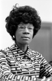 Shirley Chisholm, politician